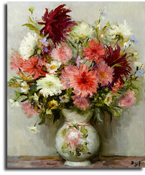 Репродукции картин цветы купить бурбонские розы купить